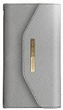 iDeal of Sweden Myfair Clutch iPhone 6 Plus / 6S Plus / 7 Plus / 8 Plus Light Grey Kılıf