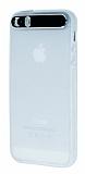iFace iPhone 5 / 5S Kamera Korumal� �effaf Silikon K�l�f