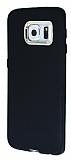 iFace Samsung Galaxy S6 Edge Kamera Korumalı Siyah Silikon Kılıf