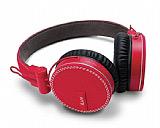 iLuv Rockefeller Mikrofonlu Katlanabilir K�rm�z� Kulakl�k