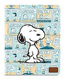 iLuv Snoopy Folio iPad 2 / iPad 3 / iPad 4 Standl� Yan Kapakl� Mavi Deri K�l�f