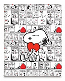 iLuv Snoopy Folio Samsung Galaxy Note 10.1 / Tab 2 10.1 Standl� Yan Kapakl� Deri K�l�f
