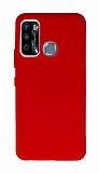 Anti-Shock Infinix Hot 9 Kırmızı Silikon Kılıf