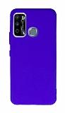 Anti-Shock Infinix Hot 9 Mavi Silikon Kılıf