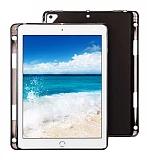iPad 10.2 Kalemli Tablet Siyah Silikon Kılıf