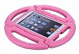 iPad 2 / 3 / 4 Ultra Koruma Direksiyon Tablet Pembe Kılıfı