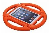 iPad 2 / 3 / 4 Ultra Koruma Direksiyon Tablet Turuncu Kılıfı