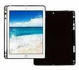 iPad 2 / 3 / 4 Kalemli Tablet Siyah Silikon Kılıf