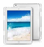 iPad 2 / 3 / 4 Kalemli Tablet Şeffaf Silikon Kılıf