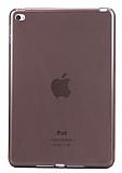 iPad 2 / 3 / 4 Şeffaf Siyah Silikon Kılıf