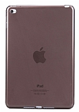 iPad 2 / 3 / 4 �effaf Siyah Silikon K�l�f