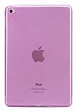iPad 2 / 3 / 4 Şeffaf Pembe Silikon Kılıf