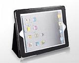 iPad 2 / iPad 3 / iPad 4 Siyah Deri K�l�f