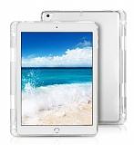 iPad Air 2 Kalemli Tablet Şeffaf Silikon Kılıf