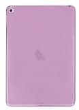 iPad Air 2 Şeffaf Pembe Silikon Kılıf