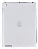 Eiroo iPad 2 / 3 / 4 Ultra �nce �effaf Silikon K�l�f