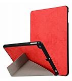 iPad Air / Air 2 /iPad pro 9.7 / iPad 9.7 Standlı Kırmızı Kılıf