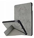 iPad Air / Air 2 /iPad pro 9.7 / iPad 9.7 Standlı Gri Kılıf