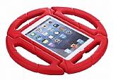 iPad Air / Air 2 / Pro 9.7 Ultra Koruma Direksiyon Tablet Kırmızı Kılıfı