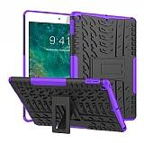 iPad Air / iPad 9.7 Ultra Süper Koruma Standlı Mor Kılıf