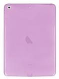 iPad Air / iPad 9.7 Şeffaf Pembe Silikon Kılıf