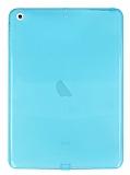 iPad Air / iPad 9.7 Şeffaf Mavi Silikon Kılıf