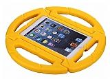 iPad Mini 1 / 2 / 3 / 4 Ultra Koruma Direksiyon Tablet Sarı Kılıfı