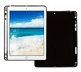 iPad Mini 2019 Kalemli Tablet Siyah Silikon Kılıf