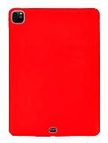 Apple iPad Pro 12.9 2020 Kırmızı Silikon Kılıf