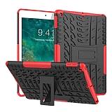 iPad 10.2 Ultra Süper Koruma Standlı Kırmızı Kılıf