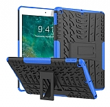 iPad 10.2 Ultra Süper Koruma Standlı Mavi Kılıf