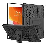 iPad 10.2 Ultra Süper Koruma Standlı Siyah Kılıf