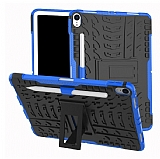 iPad Pro 11 Ultra Süper Koruma Standlı Mavi Kılıf