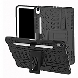 iPad Pro 11 Ultra Süper Koruma Standlı Siyah Kılıf