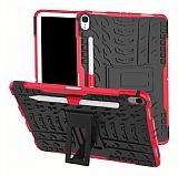 iPad Pro 11 Ultra Süper Koruma Standlı Kırmızı Kılıf