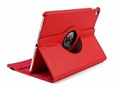 iPad Pro 12.9 2018 360 Derece Döner Standlı Kırmızı Deri Kılıf