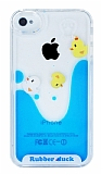 iPhone 4 / 4S Sulu �rdek Rubber K�l�f