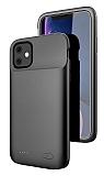 iPhone 11 6200 mAh Siyah Bataryalı Kılıf