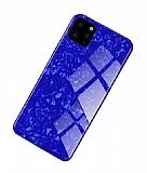 iPhone 11 Pro Granit Desenli Mavi Rubber Kılıf