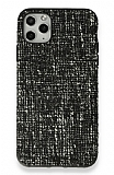 iPhone 11 Pro Siyah Kumaş Silikon Kılıf