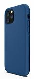 iPhone 11 Pro Max Rainbow Lacivert Silikon Kılıf