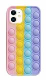 iPhone 11 Push Pop Bubble Sarı Silikon Kılıf