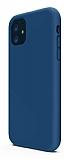 iPhone 11 Rainbow Lacivert Silikon Kılıf