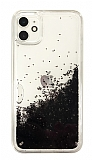 iPhone 11 Simli Sulu Siyah Rubber Kılıf