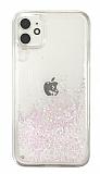 iPhone 11 Simli Sulu Beyaz Rubber Kılıf
