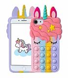 iPhone 7 / 8 Pop-it Unicorn Silikon Kılıf