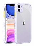 iPhone 12 6.1 inç Ultra Koruma Kaff Mor Kılıf