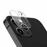 iPhone 12 Pro 6.1 inç 3D Cam Kamera Koruyucu
