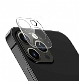 iPhone 12 Pro Max 6.7 inç 3D Cam Kamera Koruyucu