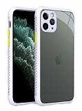 iPhone 12 Pro Max 6.7 inç Ultra Koruma Kaff Mor Kılıf